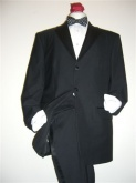 Dress suits, super lightweight, 45% wool 55% poly. Resistant to wine, oil and water